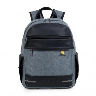 Lois Rucksack Für Herren . Laptop 15. Messenger Rucksäcke. Praktisch Für Arbeit, Reisen Oder Unterwegs. Lässiges Design. 96736 - Vorschau 5