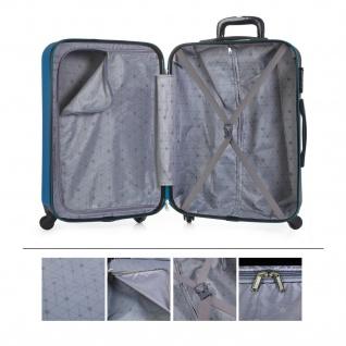 Itaca Großer XL Reisekoffer 75Cm ABS. 4 Rollen. Extrem Geräumig. Hartschale. Reisegepäck. Koffer. Hängeschloss. 71170 - Vorschau 5