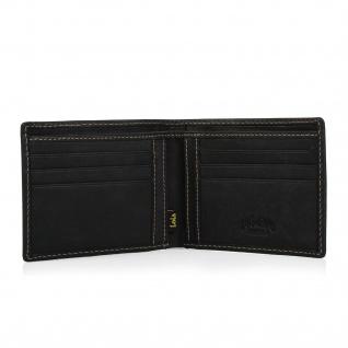 Lois Brieftasche Für Herren Portemonnaie Geldbörse Kartenhalter Echtleder Geldbörse Scheintasche 11401 - Vorschau 5