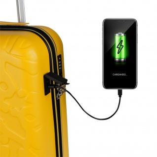 Kleine Kabinentasche. USB-Anschluss. 4 Wagenräder 55 Cm. ABS. Handgepäck. Rigid Bequem, Leicht Und Schön. Niedrige Kosten. TSA-Vorhängeschloss. Qualität. 171150 - Vorschau 5