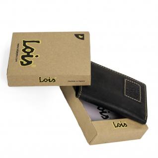 Lois Brieftasche Für Herren Leder Scheintasche Geldtasche Kartenhalter 11418 - Vorschau 3