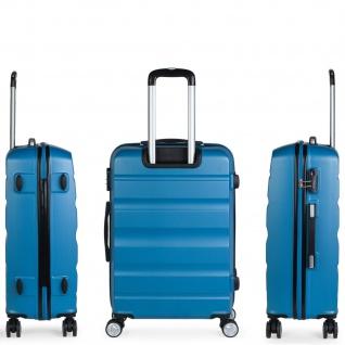 Itaca 2Er Hartschalen Kofferset 50/60 Cm ABS. 4 Rollen. Robuster Und Leichter. Reisekoffer. 2 Große: Kabine Und Mittlere Koffer. T71615 - Vorschau 4