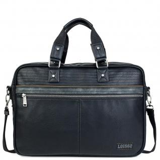 Lois Aktentasche Für Herren. Handtasche. Messenger Bar. Laptop 15. Arbeitstasche. Praktisch. Businesstasche. 305340 - Vorschau 5