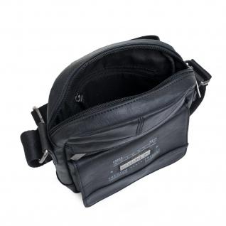 Itaca Klein Schultertasche Für Herren. Umhängetasche. Reisebrieftasche. Kuiertasche. Messenger Tasche. Klassisch Und Vintage.T26021 - Vorschau 5