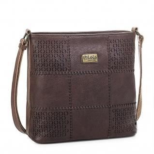 Lois Umhängetasche Für Damen Schultertasche Tasche Elegantes Design Cross-Body Bag 96244