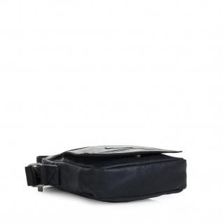 Itaca Klein Schultertasche Für Herren. Umhängetasche. Reisebrieftasche. Kuiertasche. Messenger Tasche. Klassisch Und Vintage.T26021 - Vorschau 3