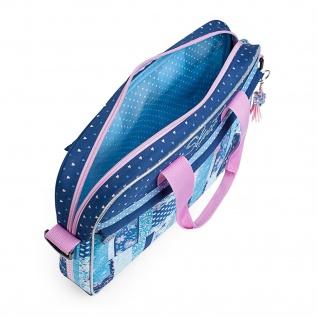 SKPAT Aktenkoffer Für Schüler Aktentasche Blautöne 130006 - Vorschau 5