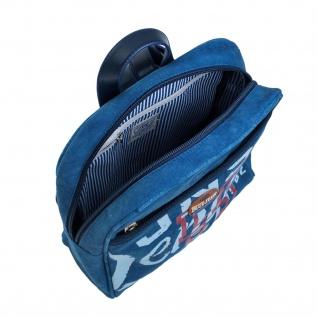 Lois Rucksack Für Damen Denim Design Segeltuch Tragetasche Handtasche Praktisch Bakpack 91250 - Vorschau 5