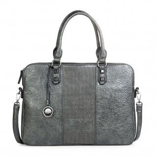 Lois Messenger Bag Dokumentenhalter 15 Laptop Aktentasche Schultertasche Arbeitstasche Kunstleder 94737 - Vorschau 5