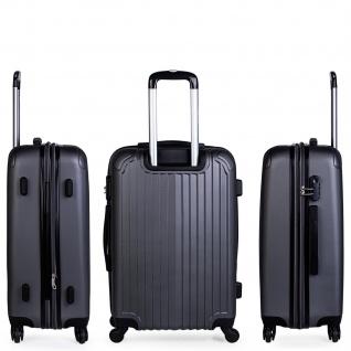 Itaca 3Er Kofferset Erweiterbar 55/66/76 Cm ABS. 4 Rollen. Reisekoffer. Hartschale. Kleine Koffer Genehmigt Für Ryanair, Mittlere Und Große. T71500 - Vorschau 4