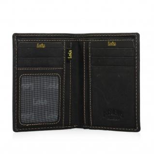 Lois Brieftasche Für Herren Leder Scheintasche Geldtasche Kartenhalter 11418 - Vorschau 5