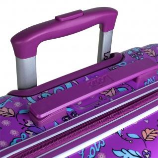 Lois 2Er Hartschalen Kinderkoffer Set Kaschmir Design Reisegepäck Kindertrolley 130200 - Vorschau 2