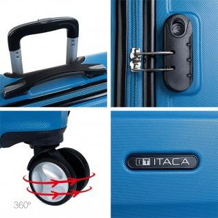 Itaca 2Er Hartschalen Kofferset 50/60 Cm ABS. 4 Rollen. Robuster Und Leichter. Reisekoffer. 2 Große: Kabine Und Mittlere Koffer. T71615 - Vorschau 5