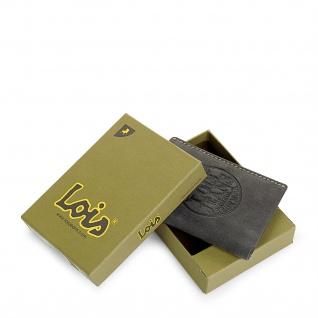 Lois Brieftasche Für Herren Leder Scheintasche Geldtasche Kartenhalter 12318 - Vorschau 3