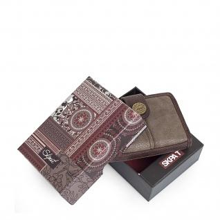 SKPAT Kartentasche Für Damen Geldbörse Mit Schnappverschluss Geldtasche Kartenhalter 95403 - Vorschau 3