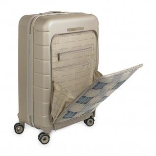 V&L Hartschale Reisekoffer 66 Cm ABS +Polyester/EVA Handgepäck 4 Räder TSA Hängeschloss Vordertasche Für Laptop 56260 - Vorschau 4