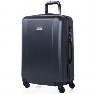 Itaca Mittlerer Hartsreisekoffer 65Cm ABS. 4 Rollen. Hartschale. Reisegepäck. Reisekoffer. Koffer. 71160