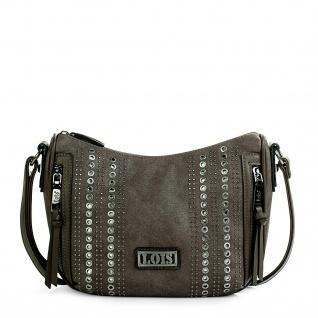 Lois Umhängetasche Für Damen Kunstleder PU Und Nieten Schultertasche Tasche Mini Bag 94456 - Vorschau 4