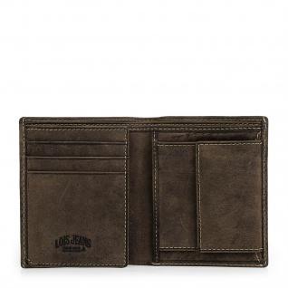 Lois Brieftasche Für Herren Leder Scheintasche Geldtasche Kartenhalter 12320 - Vorschau 5