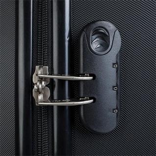 Itaca 3Er Hartschalen Kofferset 55/61/71 Cm ABS. 4 Rollen. Reisekoffer. Hängeschloss. Kleine Koffer, Mittlere Und Große. T58000 - Vorschau 3