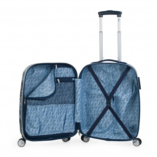 Lois Hartschale Kinderkoffer 55 Cm Bedrucktes ABS Kabinengepäck 130150 - Vorschau 5
