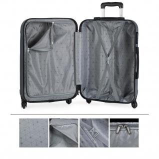 Itaca 2Er Hartschale Kofferset ABS. 4 Rollen. Reisekoffer. Reisegepäck. 2 Große: Kabine Und Mittlere Koffer 771115 - Vorschau 5