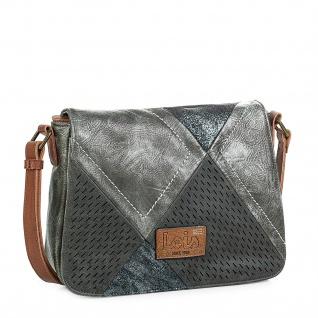 Lois Umhängetasche Für Damen Klappeverschluss Schultertasche Cross-Body Bag Elegant 96415