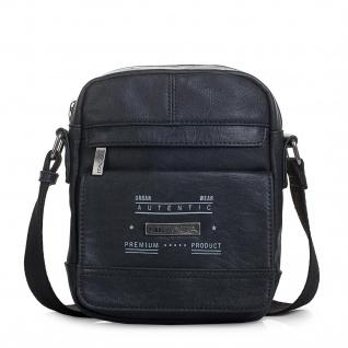 Itaca Klein Schultertasche Für Herren. Umhängetasche. Reisebrieftasche. Kuiertasche. Messenger Tasche. Klassisch Und Vintage.T26021 - Vorschau 4