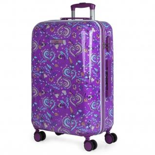 Lois Hartschale Kinderkoffer 67 Cm Bedrucktes Kaschmir Design Reisegäpack 130260