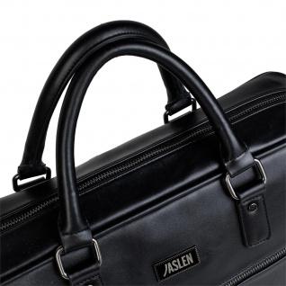 JASLEN Aktentasche Für Herren. Handtasche. Messenger Bar. Laptop 15. Arbeitstasche. Lässiges Design. Praktisch. Businesstasche. 305640 - Vorschau 2