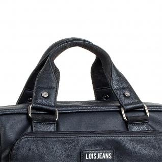 Lois Aktentasche Unisex Laptop 15 Handtasche Messenger Bag Arbeitstasche Businesstasche 96540 - Vorschau 2