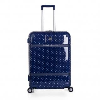 V&L 2Er Hartschalen Koffer-Set Koffer Reisegepäckn Reisekoffer 80100 - Vorschau 4