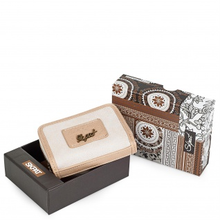 SKPAT Portmonnaie Für Damen Geldbeutel Brieftasche Münztasche Münzbörse Geldtasche 95427 - Vorschau 3