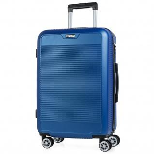 Itaca Mitllere Reisekoffer-Trolley 60 Cm ABS. Starre Und Leicht. Reisegepäck. Koffer. Hartschale. T72060