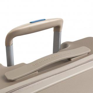 V&L Hartschale Reisekoffer 66 Cm ABS +Polyester/EVA Handgepäck 4 Räder TSA Hängeschloss Vordertasche Für Laptop 56260 - Vorschau 2
