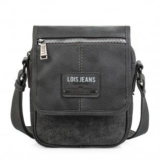 Lois Umhängetasche Für Herren Messenger Bag Shultertasche Kuriertasche 96516 - Vorschau 4