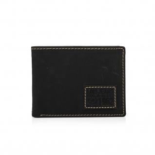 Lois Brieftasche Für Herren Portemonnaie Geldbörse Kartenhalter Echtleder Geldbörse Scheintasche 11401 - Vorschau 4