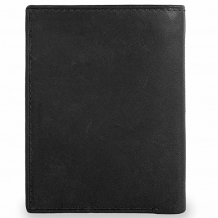 Herren Leder Brieftasche. Vertikal. Geldbeutel, Kartenfächer. Ausweisdokument, Banknoten Und Münzen. 37918 - Vorschau 2