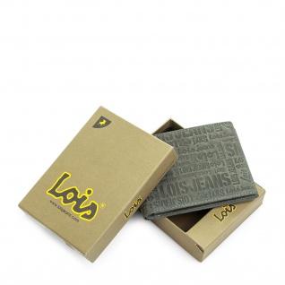 Lois Brieftasche Für Herren Portemonnaie Geldbörse Kartenhalter Echtleder Geldbörse Scheintasche 11708 - Vorschau 3