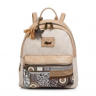 SKPAT Rucksack Für Damen Handgriff Tragetasche Handtasche Backpack 95499 - Vorschau 4