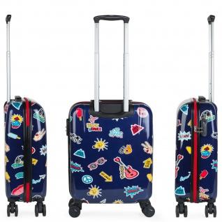 Itaca Kinderkoffer 4 Rollen Kabinengepäck Handgepäck Polycarbonat Reisekoffer Hartschale Koffer 702250 - Vorschau 4