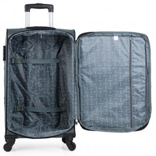3Er Kofferset Erweiterbar 54/67/78 Cm EVA-Polyester. 4 Rollen. Handgepäck. Reisekoffer. 701000 - Vorschau 5