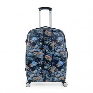 Lois 2Er Hartschalen Kinderkoffer Set ABS Klein- Und Mitllere Koffer Kindertrolley 130100 - Vorschau 4