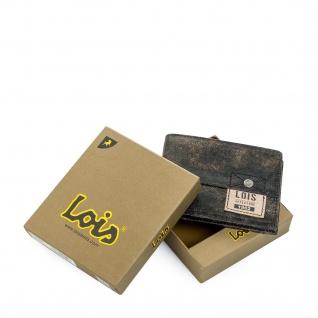 Loisbrieftasche Für Herren Portemonnaie Geldbörse Kartenhalter Echtleder Geldbörse Scheintasche 12501 - Vorschau 3