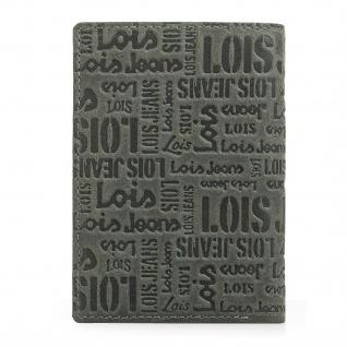 Lois Brieftasche Für Herren Leder Scheintasche Geldtasche Kartenhalter 11718 - Vorschau 2
