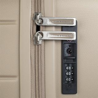V&L Hartschale Reisekoffer 66 Cm ABS +Polyester/EVA Handgepäck 4 Räder TSA Hängeschloss Vordertasche Für Laptop 56260 - Vorschau 3