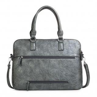 Lois Messenger Bag Dokumentenhalter 15 Laptop Aktentasche Schultertasche Arbeitstasche Kunstleder 94737 - Vorschau 2