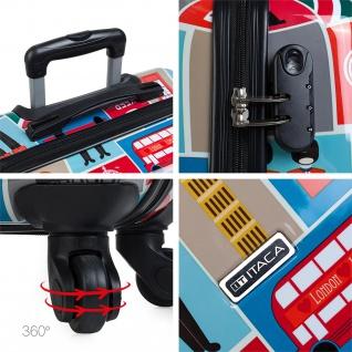 Itaca Hartschale Reisekoffer 74Cm Bedrucktes Polykarbonat 4 Rollen Reisegepäck Koffer 702170 - Vorschau 5