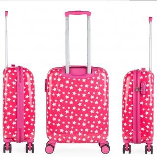 Itaca 2Er Hartschalen Kinder Kofferset Polycarbonat 4 Rollen Bedruckt Reisekoffer Klein- Und Mitllere Koffer 702400 - Vorschau 4