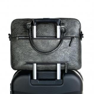 Lois Messenger Bag Dokumentenhalter 15 Laptop Aktentasche Schultertasche Arbeitstasche Kunstleder 94737 - Vorschau 4